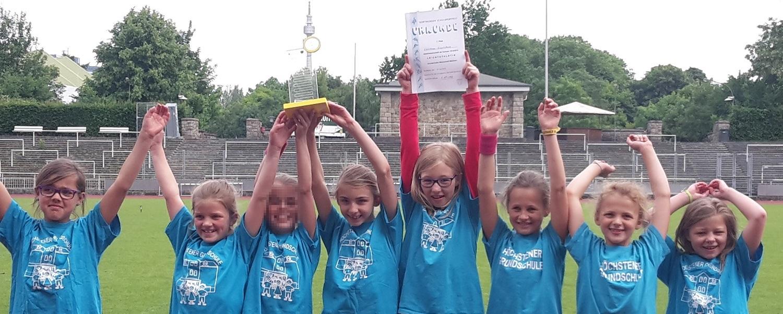 Höchstener Grundschule holt Titel in der Leichtathletik